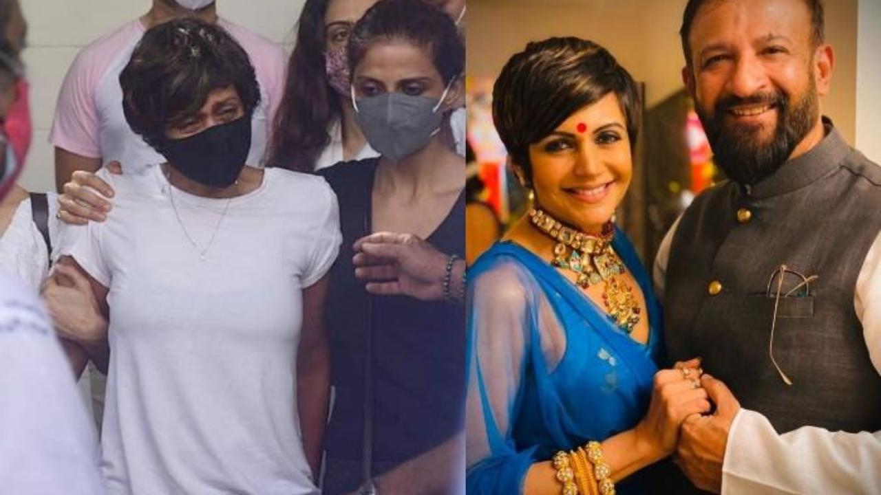 Life is so unpredictable: Mandira Bedi bids final goodbye to husband Raj Kaushal
