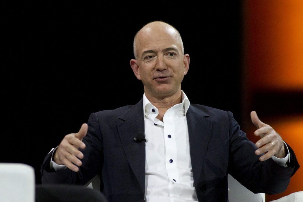 Jeff Bezos, the world's richest man and the founder of Amazon.com, has stepped down as CEO after 27 years in charge of the company.